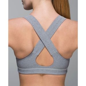Lululemon All Sports bra (gray) - size 6